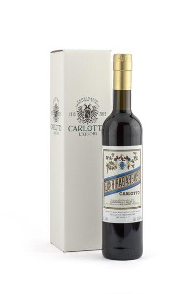 Liquore Elixir di Rabarbaro Carlotto l.i. 0,50