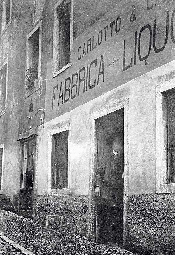 Carlotto liquori foto d'epoca – inizi 900′
